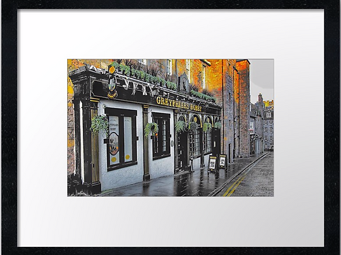 Greyfriars, Edinburgh 40cm x 30cm framed print or canvas pri