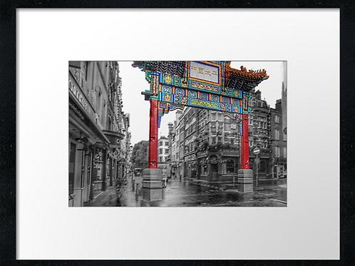 London (26) print or canvas print (example shown 40cm x 30cm framed print)