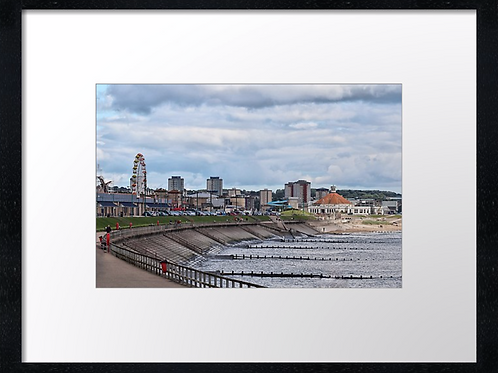 Aberdeen beach 40cm x 30cm framed print or canvas