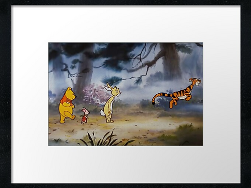 Winnie-the-Pooh (7) example shown 40cm x 30cm framed print
