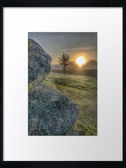 Autumn Sun 5 40cm x 30cm framed print or canvas pri