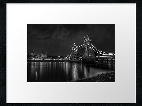 London (22) print or canvas print (example shown 40cm x 30cm framed print)