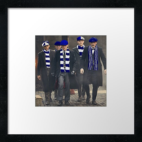 "Dundee fc fans (Example shown 10"" Framed print £21.50)"