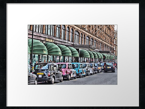 London (10) print or canvas print (example shown 40cm x 30cm framed print)