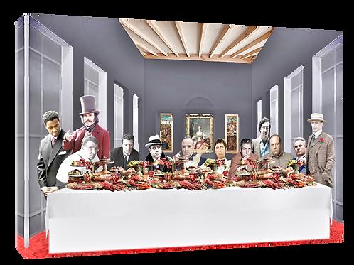 Mafia supper (2) print or canvas print (example shown 40cm x 30cm framed