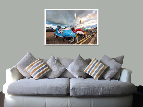 Brighton 20 20 Print,  Framed print, canvas print or poster