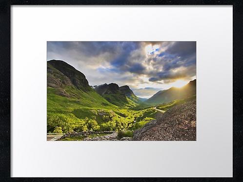 Glencoe (2) 40cm x 30cm framed print or canvas pri