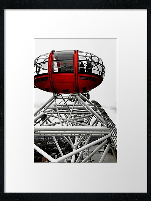 London (14) print or canvas print (example shown 40cm x 30cm framed print)