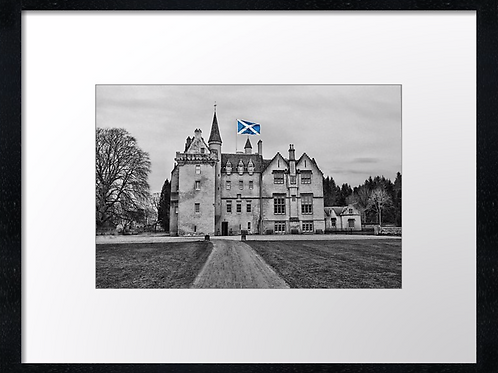 Brodie castle 40cm x 30cm framed print or canvas print