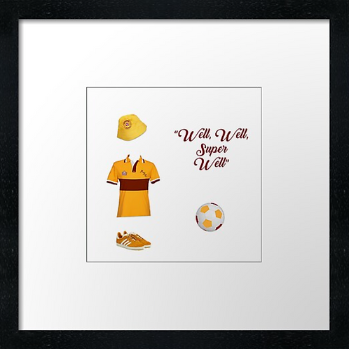"Motherwell (2) (Example shown 10"" Framed print £21.50)"