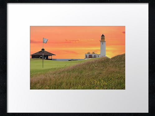 Turnberry golf course (4) 40cm x 30cm framed print or canvas print