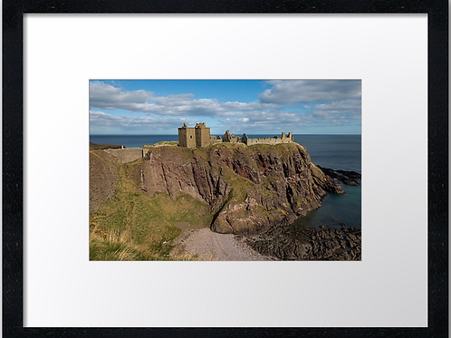 Dunnottar castle (1) 40cm x 30cm framed print or canvas pri