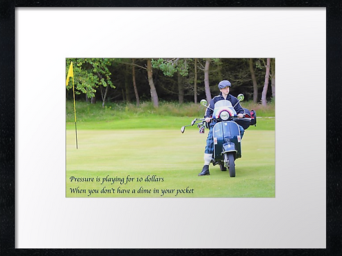 Golf boy quotes (1) 40cm x 30cm framed print or canvas print