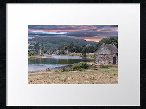 Aberdeen Bridges (2)  40cm x 30cm framed print or canvas pri
