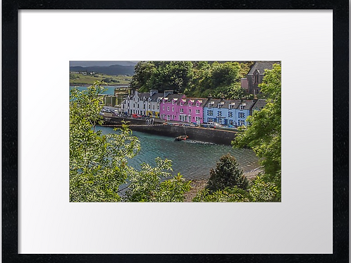 Portree, Isle of Skye  40cm x 30cm framed print or canvas pri