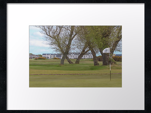 Carnoustie 10 Print or canvas, example 40cm x 30cm framed print