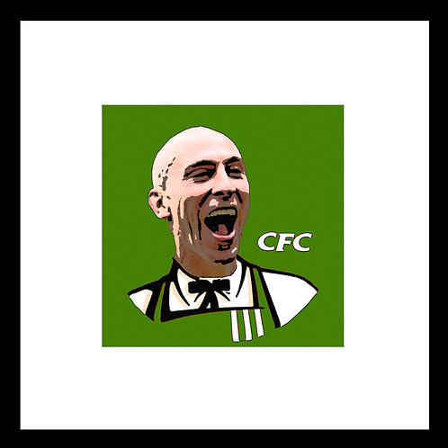 "Broony, KFC, CFC. Example shown 10"" framed print £21."