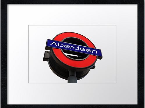 Aberdeen (8) Aberdeen tube station!