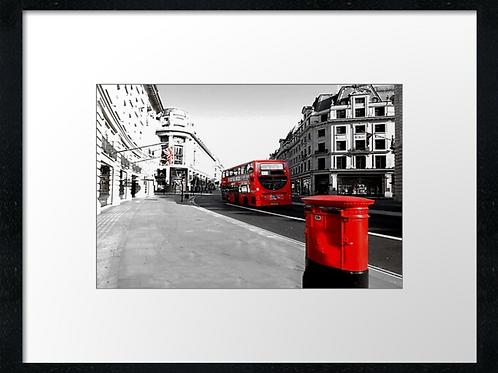 London (8) print or canvas print (example shown 40cm x 30cm framed print)