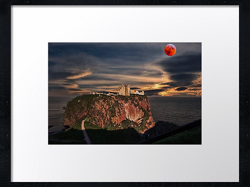 Dunnottar castle (3) 40cm x 30cm framed print or canvas print