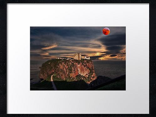 Dunnottar castle (3) 40cm x 30cm framed print or canvas print
