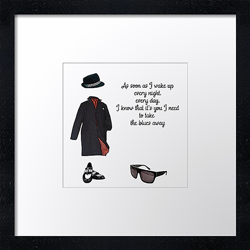 """It must be Love Print or canvas print Example shown is 10"""" Framed print £21.50"""