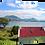 Thumbnail: Red roof cottage  40cm x 30cm framed print or canvas pri