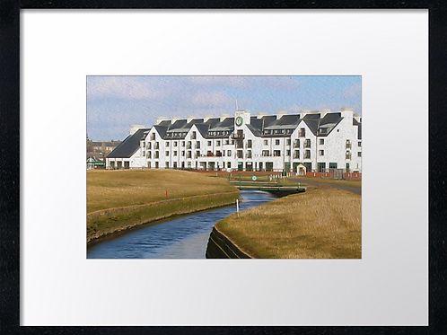 Carnoustie 16 Print or canvas, example 40cm x 30cm framed print