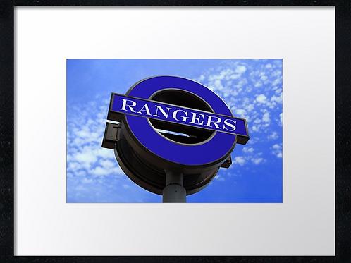 Rangers  (8) 40cm x 30cm framed print or canvas print