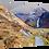 Thumbnail: Steall falls  40cm x 30cm framed print or canvas pri