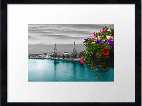 Inverness Bridges (4) 40cm x 30cm framed print or canvas pri
