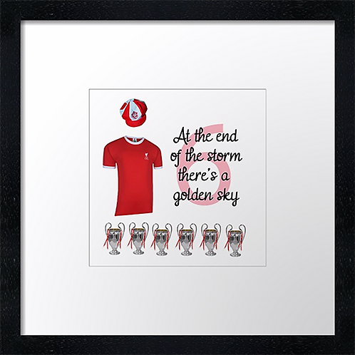 """Liverpool six (2) (Example shown 10"""" Framed print £21.50)"""