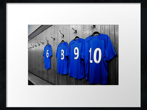Rangers  (19) 40cm x 30cm framed print or canvas print