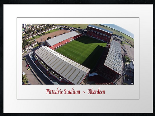 Aberdeen Pittodrie from above