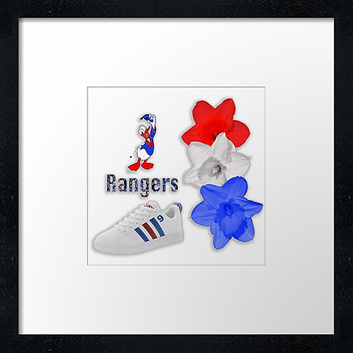 "Rangers (18)  (Example shown 10"" Framed print £21.50)"