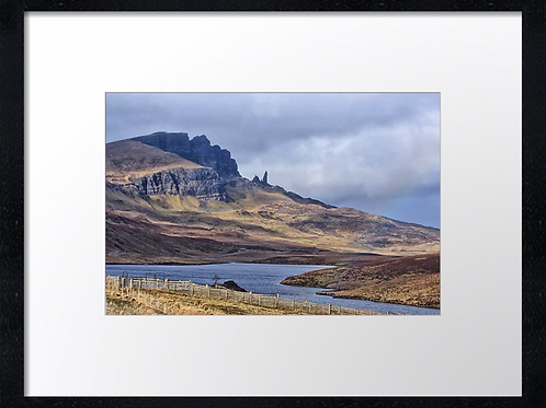 Storr, Isle of Skye (9)  40cm x 30cm framed print or canvas pri
