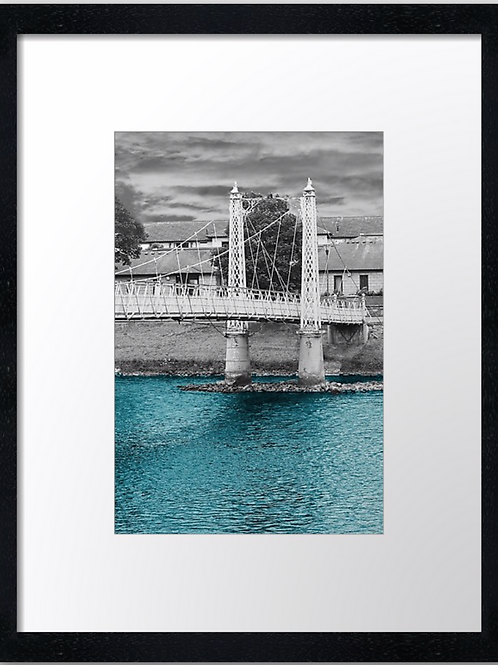 Inverness bridges (2) 30cm x 40cm framed print, canvas print or A4, A3 mou