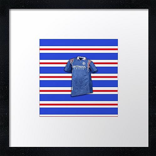 """Rangers (1)  Example shown 10"""" Framed print £21.50)"""