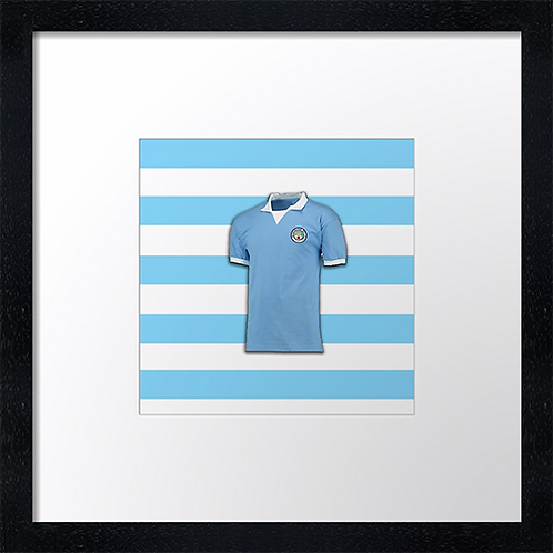 "Manchester City (3)  (Example shown 10"" Framed print £21.50)"