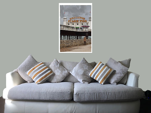 Brighton 20 06 Print,  Framed print, canvas print or poster