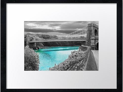 Aberdeen Bridges (3)  40cm x 30cm framed print or canvas pr