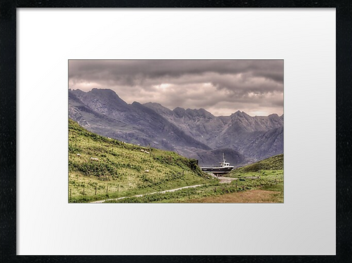 Isle of Skye (Boat) print or canvas print