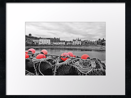 Stonehaven harbour  40cm x 30cm framed print or canvas pri