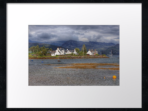 Plockton (1) 40cm x 30cm framed print or canvas pri