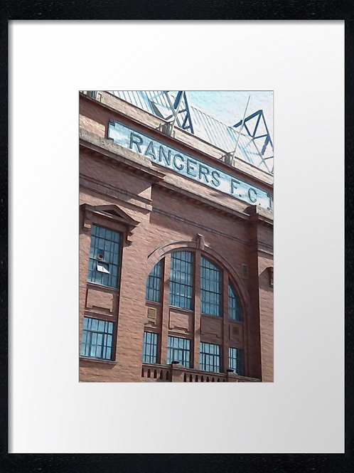 Rangers  (11) 40cm x 30cm framed print or canvas print