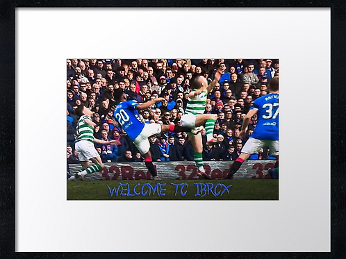 Rangers  (15) 40cm x 30cm framed print or canvas print
