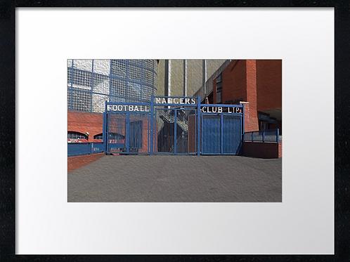 Rangers  (9) 40cm x 30cm framed print or canvas print