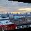 Thumbnail: Aberdeen Skyline (2) 40cm x 30cm framed print or canvas pri