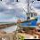Thumbnail: Fishing boat print or canvas print (example shown 40cm x 30cm framed print