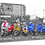 Thumbnail: Brighton parked scooters  40cm x 30cm framed print, canvas print or A4, A3 m